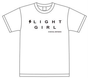 雷都少女 #SOCIAL DISTANCE Tシャツ(メンバー落書き入り)