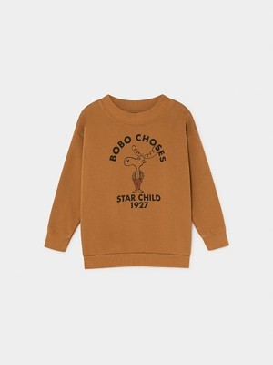 【新入荷】ボボショセス(BOBO CHOSES) -THE MOOSE SWEATSHIRT[2-3y/4-5y/6-7y]