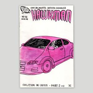 Jon Chandler/Original drawing 'HAWKMAN'