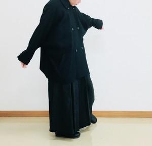 【veritecouer】トラペーズラインショートコート / vc-1757