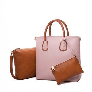 Bag Composite Casual Handbag Soft Shopping Bag PU Leather Luxury (AG99-5774152)