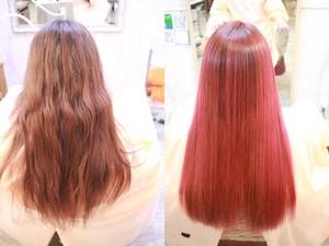 縮毛矯正+髪質改善 for Straight ¥19,000 縮毛矯正用髪質改善付