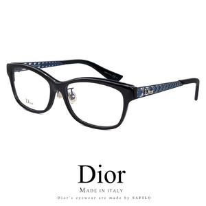 Dior メガネ diorama01f-emv 眼鏡 メンズ レディース Christian Dior クリスチャンディオール ウェリントン型 コンビネーションフレーム