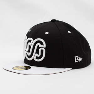 NEW ERA × 100A 59FIFTY BICOLOR *BLACK / WHITE LOGO