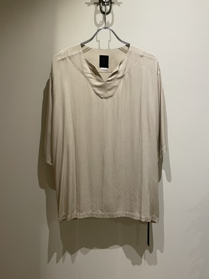 EASY TO WEAR 21ss TEE ETW21SS−KSH002 CREAM イージートゥウェア クリーム