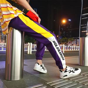 【ボトムス】ストリート系ゆるりスポーツカジュアルパンツ