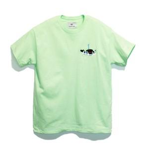 KUNCHI  TEE - mint green <KUJIRA>