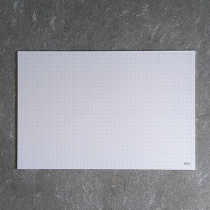 The cutting mat white