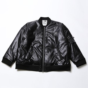 NOCTURNE -Leather Flight Jacket-
