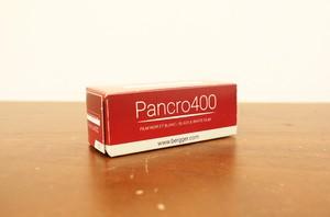 【モノクロネガフィルム 120 ブローニー】Bergger(ベルゲール) Pancro400