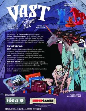 [3ー4月入荷分予約]VAST拡張:The Fearsome Foes(日本語説明書・シール付き予定)