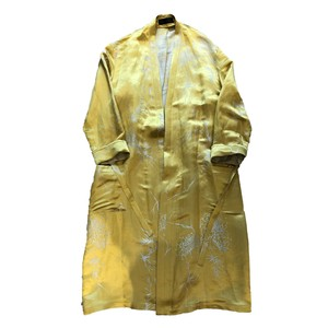HAIDER ACKERMANN ROBE COAT GOLD