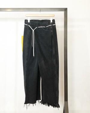 vintage rework biggy pants black