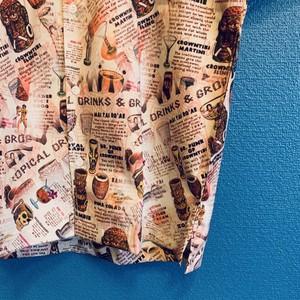 ハワイアンティキ&カクテルのアロハシャツ