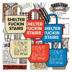Anoraks + SHELTER | SHELTER FUCKIN STAIRS TOTE