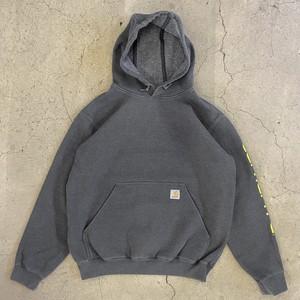 """""""Carhartt"""" Sleeve Logo Hooded Sweatshirt"""