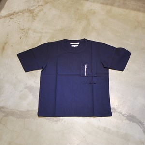 FDMTL INDIGO POCKET PULL SHIRT