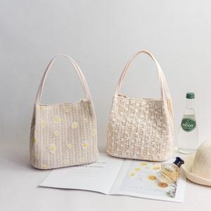 【バッグ】 レース 花柄 キュートトートバッグハンドバッグ