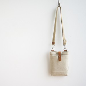CANVAS CHALK BAG / GRAY BEIGE