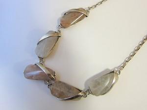 (IKUO)silver×メノウ ネックレス