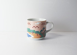 アカフジ タイルマグ (小) / The Porcelains