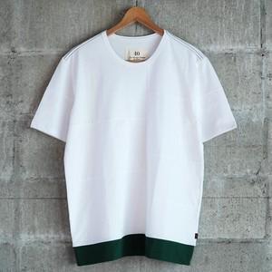 【Four Seasons Garage】天竺パッチワーク Tシャツ