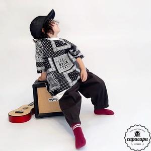 «予約» paisley t-shirt  2Colors  ペイズリーTシャツ