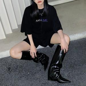 SAVEMEハーフTシャツ(全2色) / HWG435
