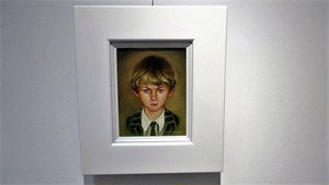 絵画「School boy」(2009年)