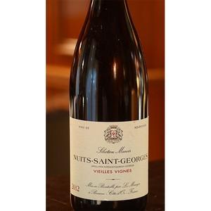 2012年ニュイ サン ジョルジュ 赤ワイン