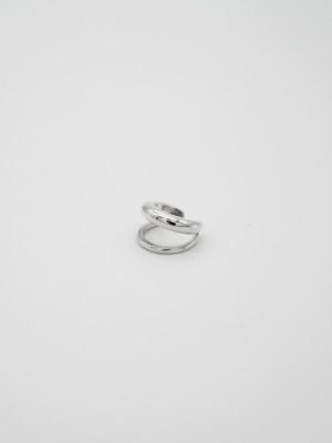 double ear cuff silver(再入荷)