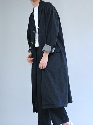 ANACHRONORM AN044 / OW DENIM ENGINEER COAT / INDIGO OW