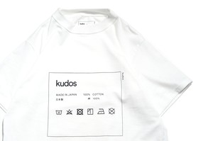 """CARE-TAG"" T-Shirt WHITE -kudos-"