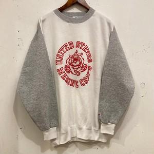 "80's~ ""USMC"" Print Sweat Shirts"