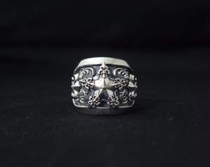 Mondo&RoS 「Lily Star Ring」wide type