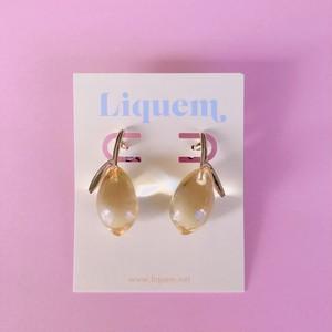 <ピアス>Liquem / レモン・ピアス