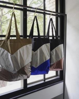 ISABEL MARANT / metallic nylon shopping bag