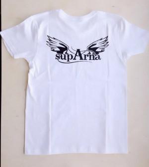 【supArna白Tシャツ】