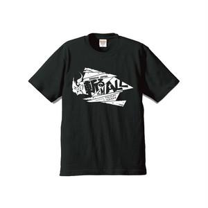 【斬る'em ALL】ロゴTシャツ 黒×白(送料込み)