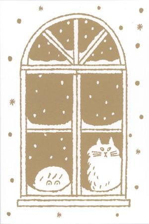 post card「ゆきのひ」