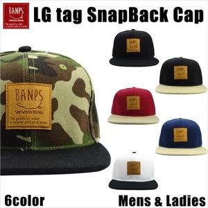 LG Suede Tag SnapBack Cap bp-106