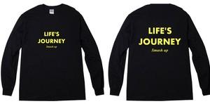 【受注生産】LIFE'S JOURNEY ロンT (ブラック)