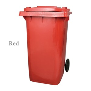 【PT240】Plastic trash can 240L #ゴミ箱 #プラスチック #ポップ #アメリカン