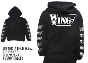 【受注生産】 W★INGオフィシャル・パーカー 9.3oz