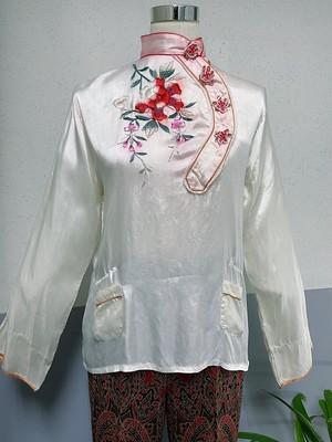 50's US Vintage Oriental design Top