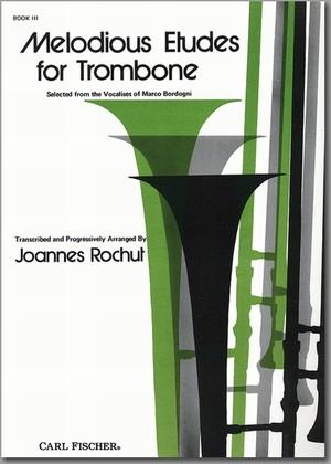 ロッシュ:トロンボーンのための旋律的練習曲 第3巻/トロンボーン