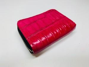 1個限定 展示試作品 ファスナーコインケース(ピンク)