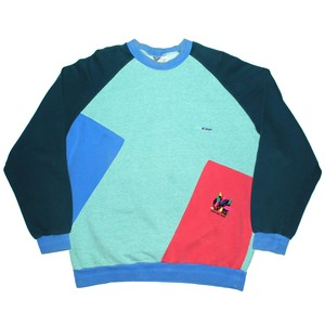 『BMW M-STYLE』 80s multi-color pullover