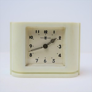 TOYO CLOCK 小型置時計 ベークライト製ボディ