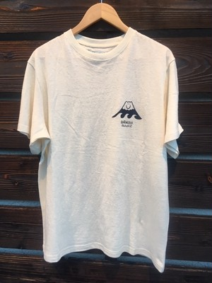 Gentemstick  PG x GENTEMSURF HEMP/ORGANIC COTTON TEE NATURAL Lサイズ